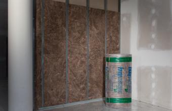 Vata minerala de sticla pentru pereti de compartimentare