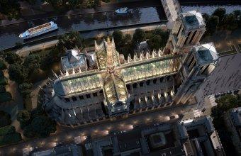 Încă o propunere interesantă pentru reconstrucția Catedralei Notre-Dame