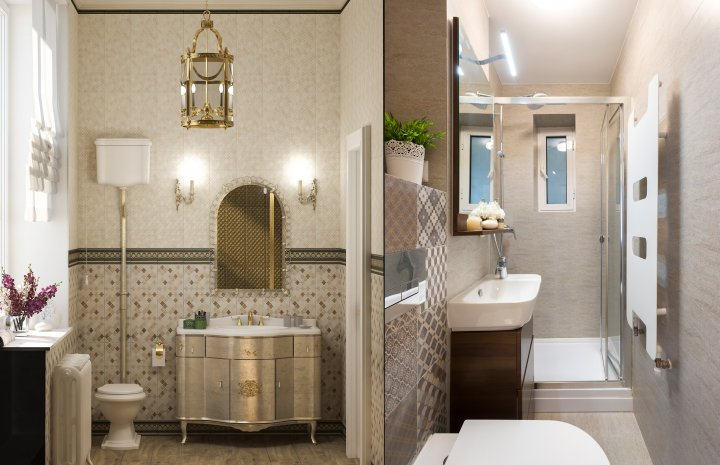Cum amenajez o baie mică - soluții testate cu succes de designeri din România