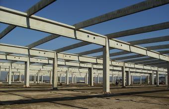 Structuri hale prefabricate din beton