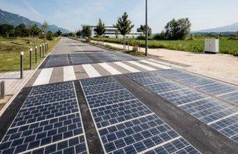Ce s-a întâmplat cu drumul cu panouri solare inaugurat în Franța acum trei ani