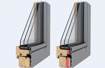 Ferestre din lemn placat cu aluminiu - DesignLine, ModernLine, LivingLine
