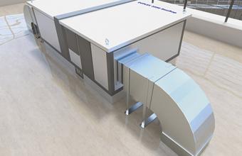 Centrale de tratare aer, unitati de ventilare pentru constructii civile si industriale, case si apartamente