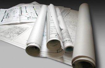 Plotare color a fisierelor CAD sau GIS pentru planuri de constructii si planuri de arhitectura
