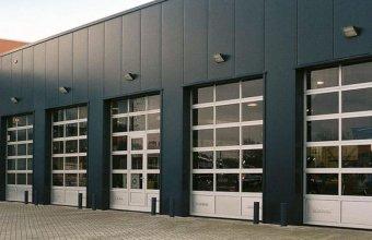 Porti industriale sectionale pentru inchideri exterioare