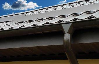 Sistem pluvial de jgheaburi si burlane pentru acoperis