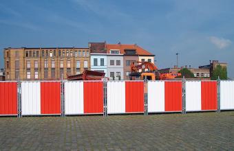 Garduri mobile / imprejmuiri temporare pentru organizare de santier