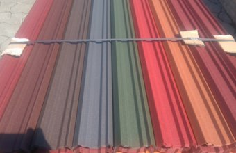 Sipca metalica zincata si colorata pentru gard