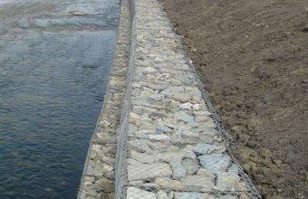 Gabioane din plasa sudata si impletita pentru stabilizarea terenurilor si malurilor