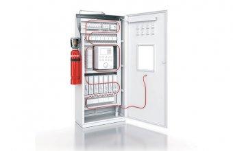 Instalatii automate pentru stingere incendii tablouri, panouri electrice, masini CNC