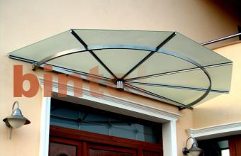 Copertine fixe pentru protectia impotriva precipitatiilor
