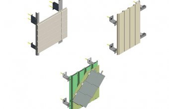 Sisteme de fixare a placarii pentru fatade ventilate