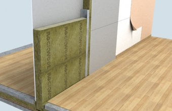 Termoizolatie vata bazaltica pentru pereti de compartimentare
