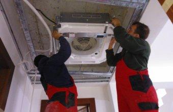 Montaj instalatii de climatizare si recuperare de caldura
