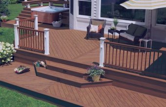 Deck-uri compozite pentru terase, platforme si amenajari exterioare