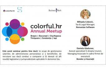 Colorful.hr Annual Meetup ajunge în 6 orașe din România