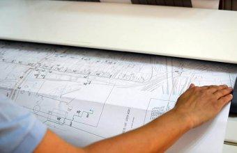 Servicii de printare si plotare planuri de constructii sau de arhitectura, structura sau instalatii