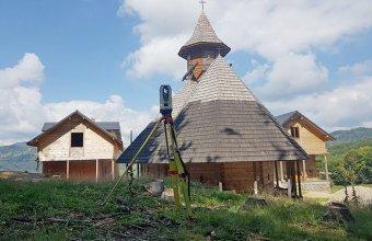 Scanare 3D pentru monumente si cladiri de patrimoniu