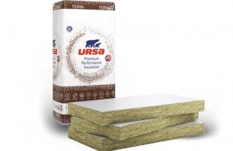 Vata minerala URSA cu montaj prin lipire pentru izolarea la interior a plafoanelor la pivnite, garaje, subsoluri