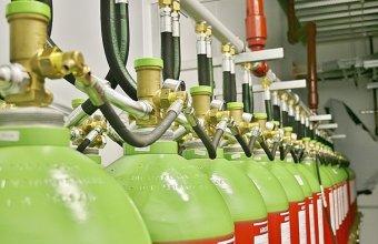 Instalatii pentru stins incendii cu INERGEN sau DIOXID de CARBON